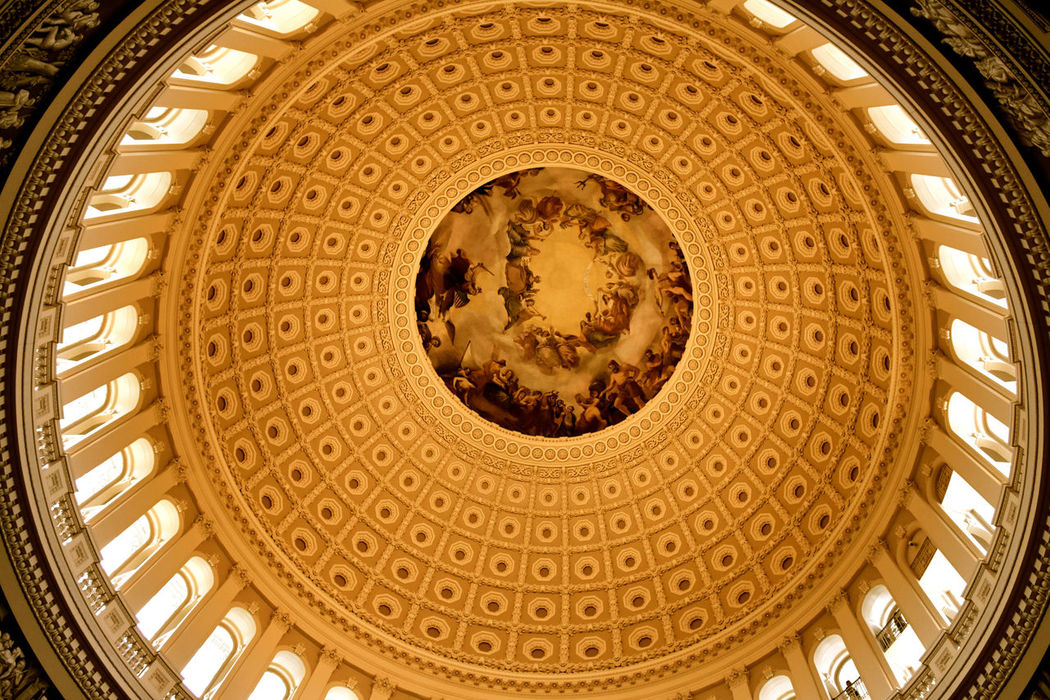 State Capitol Washington Washington DC WashingtonDC Architecture Built Structure Dome Dome Roof Government History Low Angle View No People Ornate State Capital Building State Senate Travel Destinations
