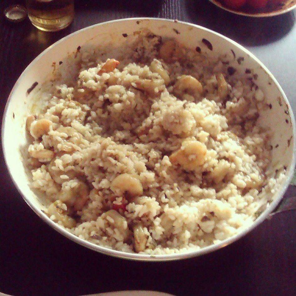 Shrimps Reis Pfanne Self made so yummy