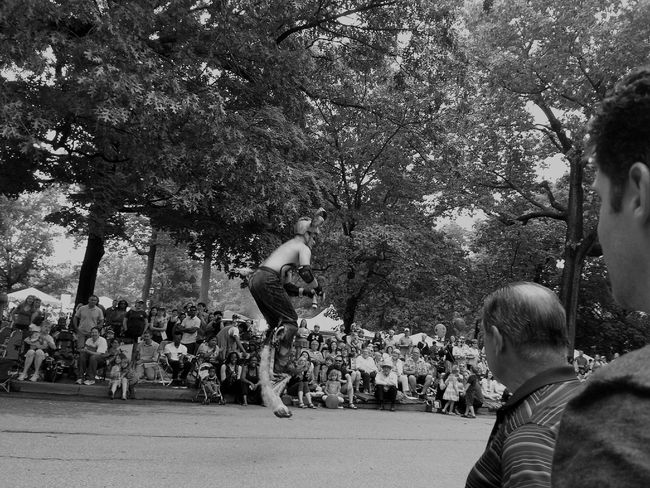 Satyr Parade The Circle Cleveland Museum Of Art People Photography People Watching Stand Out From The Crowd Street Photography The Action Photographer - 2015 EyeEm Awards The Street Photographer - 2015 EyeEm Awards The Photojournalist - 2015 EyeEm Awards