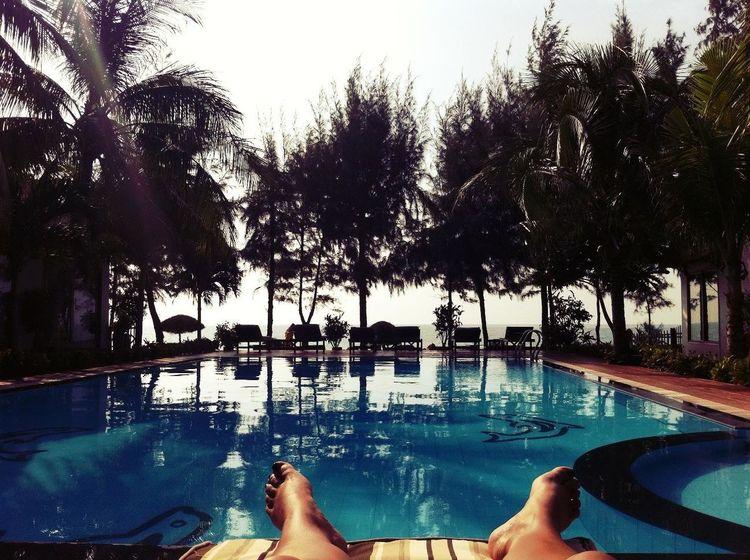 Playing at Mui Ne Beach Vietnam Playing