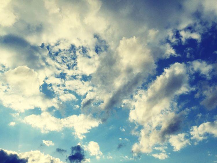 Sky Cloud After Rain