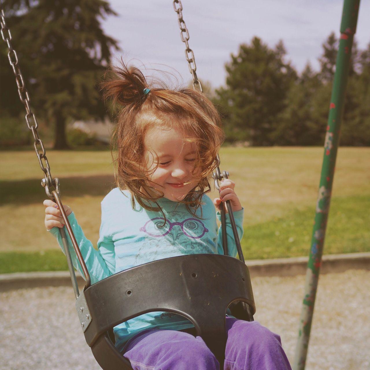 Beautiful stock photos of niedlich, childhood, preschool age, park - man made space, playground