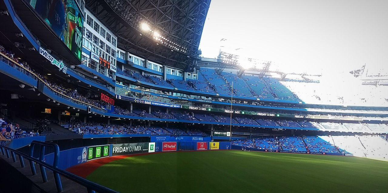 stadium, architecture, illuminated, night, outdoors, sport, clear sky, no people, grass, sky, city