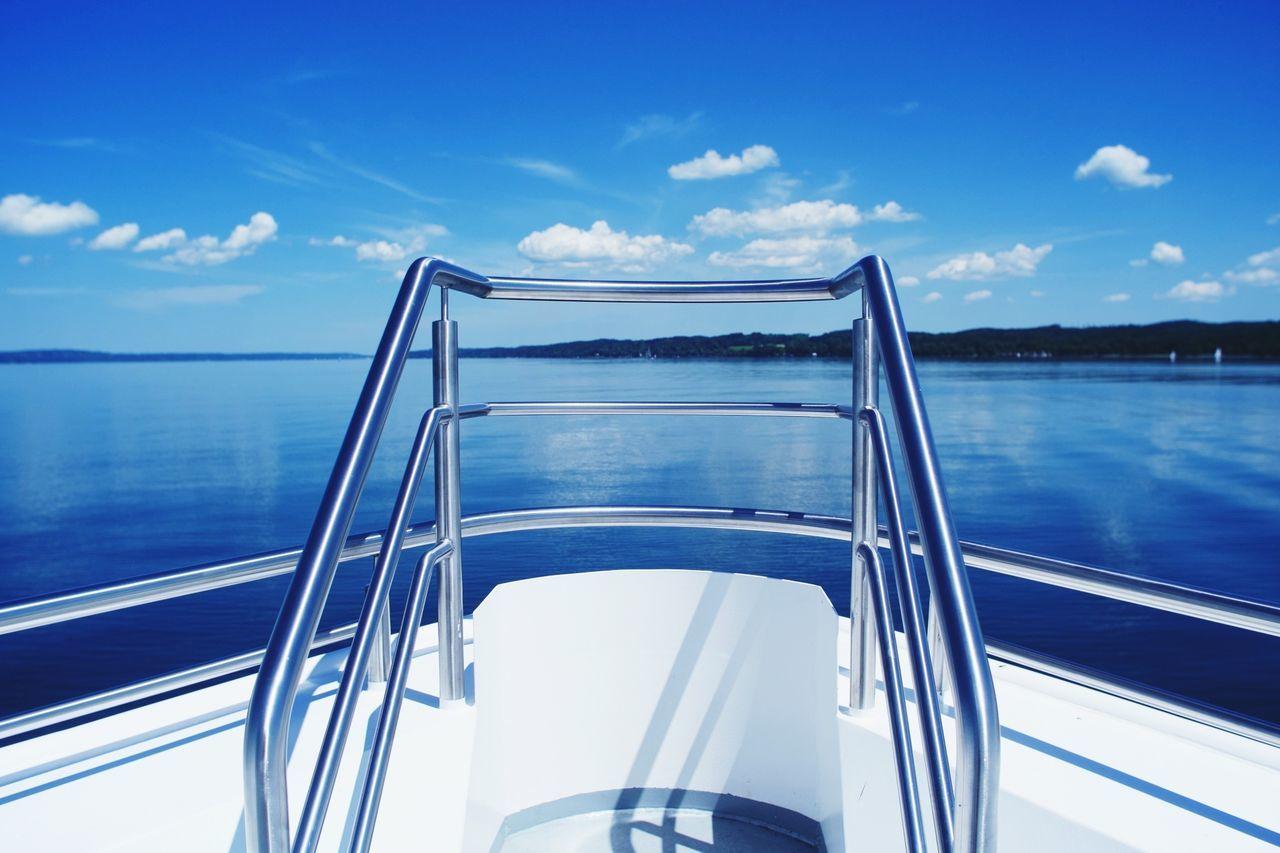 Beautiful stock photos of sailing, Blue, Boat, Close-Up, Cloud