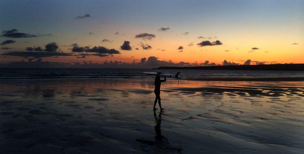 After A Long Days Surfing Surfing Beach Sunset EyeEm Best Shots