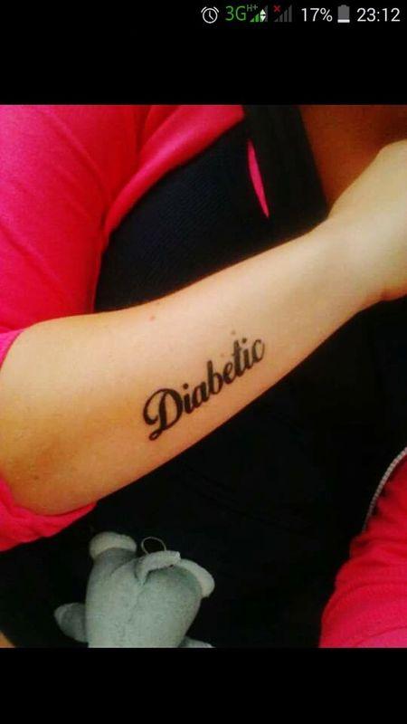 Tattoo Little Tattoo Diabetes Diabetic√♥ Show Must Go On I Love Tattoo