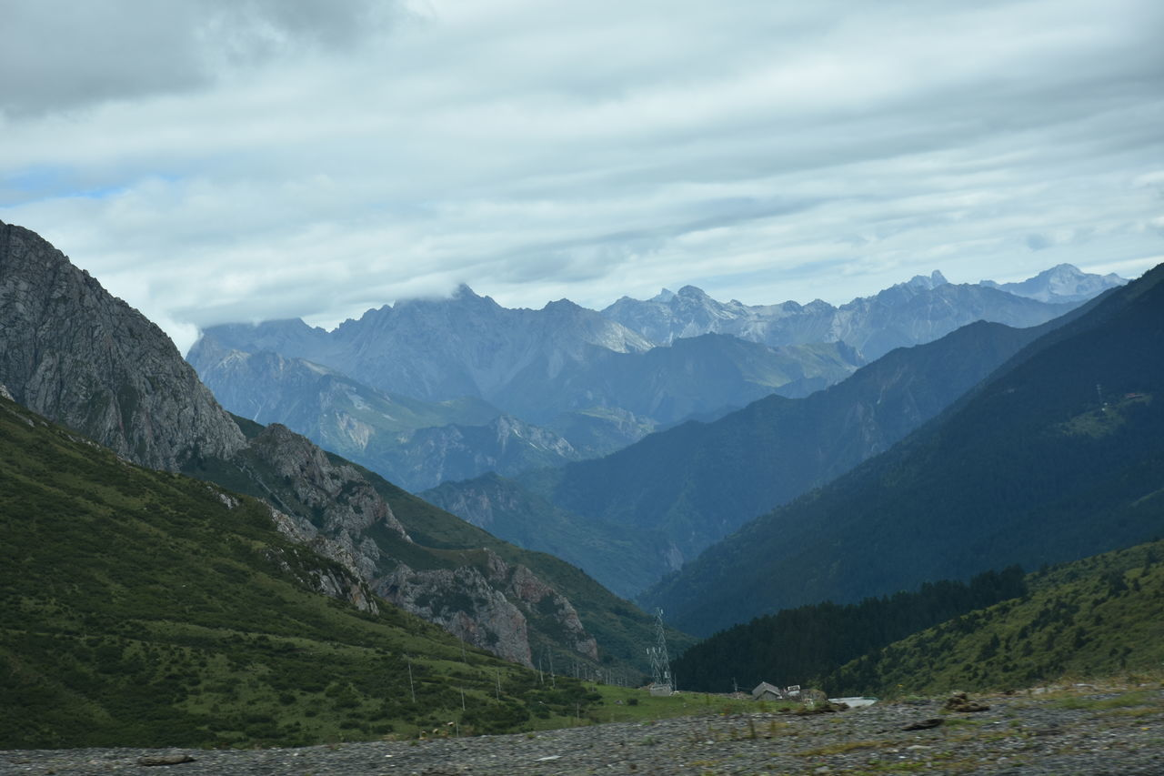 mountain, nature, sky, landscape, beauty in nature, no people, day, outdoors, range