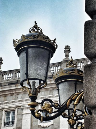 Lamp lights in the palace in Madrid Architectural Column Architecture Built Structure Close-up Exterior Lamp Exterior Lighting High Section Historic Lamp Light Lamp Lights In Decorations Lamps With Gold Decoration Low Angle View Madrid Palace Madrid Palace Lamps Ornate Ornate Lamp Ornate Lamps Outdoor Lamp Outdoor Lamps Outdoor Ornate Lamps Palace In Madrid
