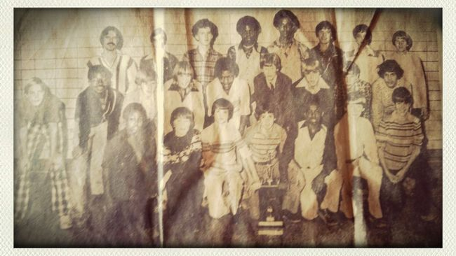 1979 Jr.High boys basketball . Wow