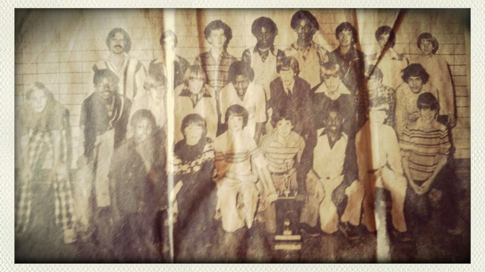 1979 Jr.High boys basketball . Wow
