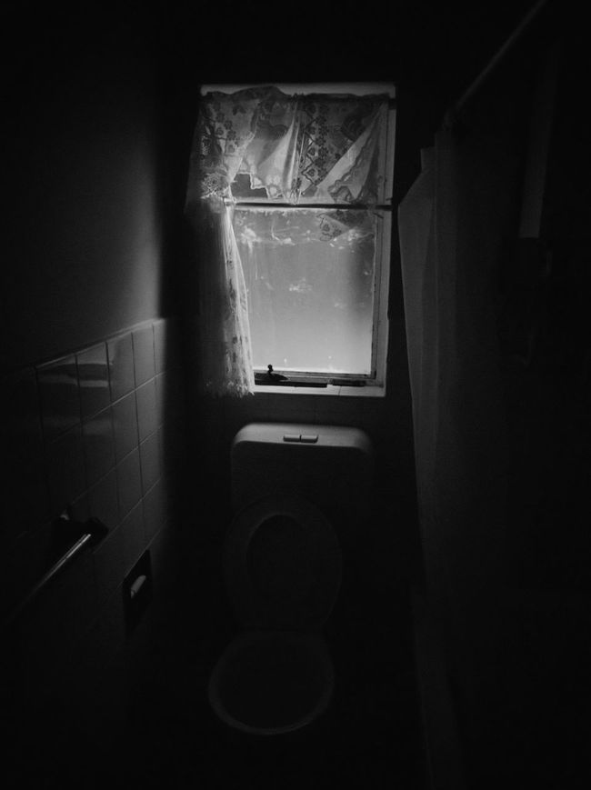 Indoors  Dark Entrance Day The Way Forward Diminishing Perspective No People Darkroom Darkness EyeEmBestPics EyeEmBestEdits EyeEm Best Shots Interior Style Toilet Lol Toilet Bathroom