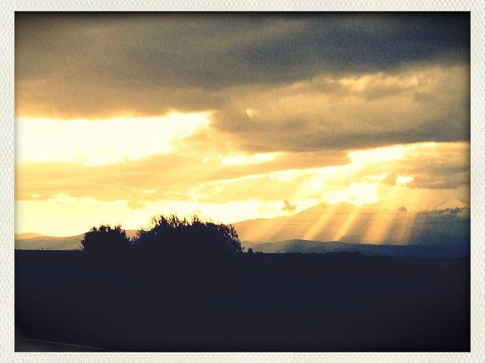 Sun And Clouds MassifDuCanigou