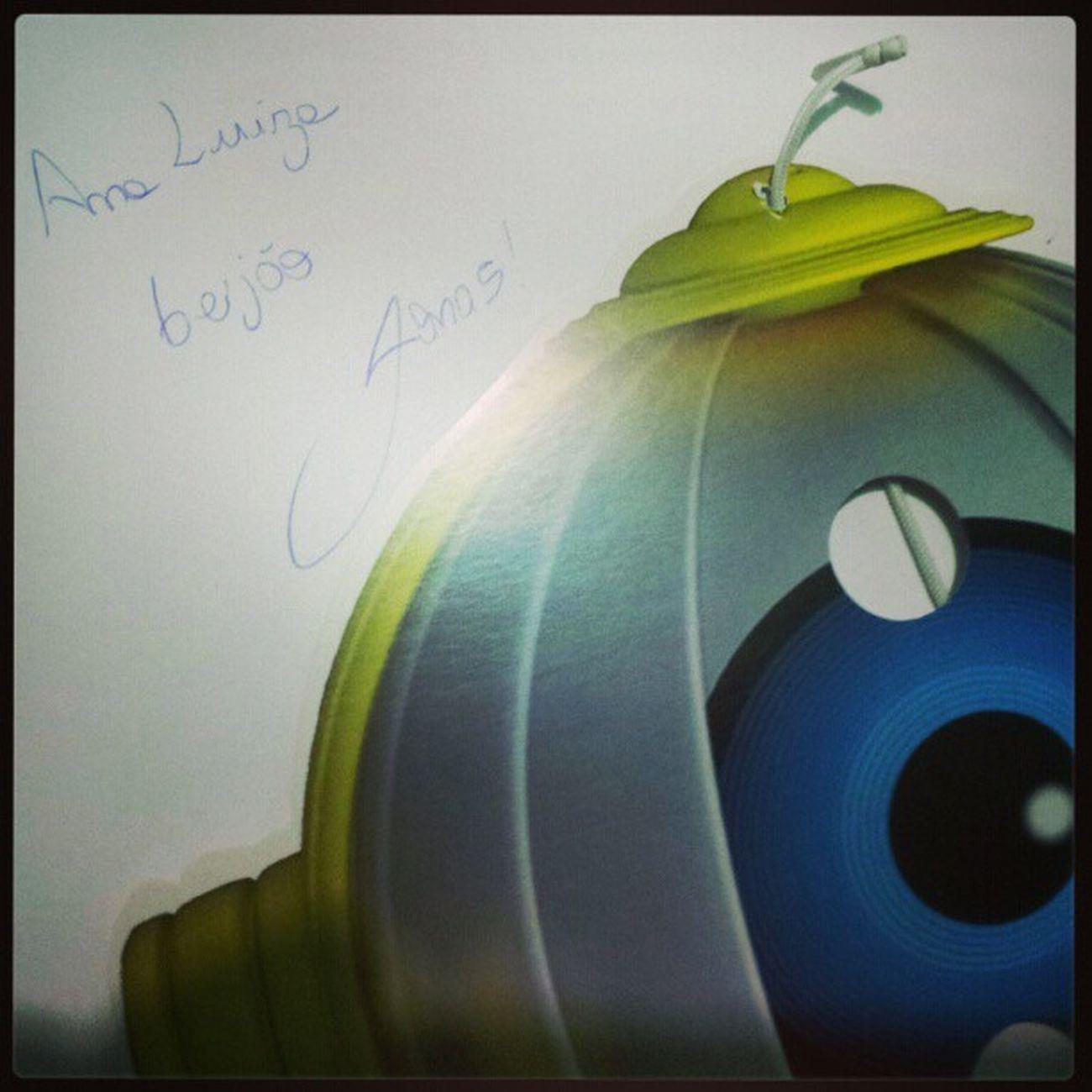 Ana Luiza olha o que o Jonas do BBB mandou pra ti!!!