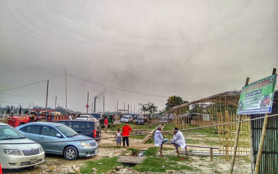 Car Automotive Photography Nature Photography Mobilephotography Outdoors❤ Bangladesh 🇧🇩 Real People Nature Outdoors Streetphotography City Traffic Bridge Adventure Men Gloomy Weather