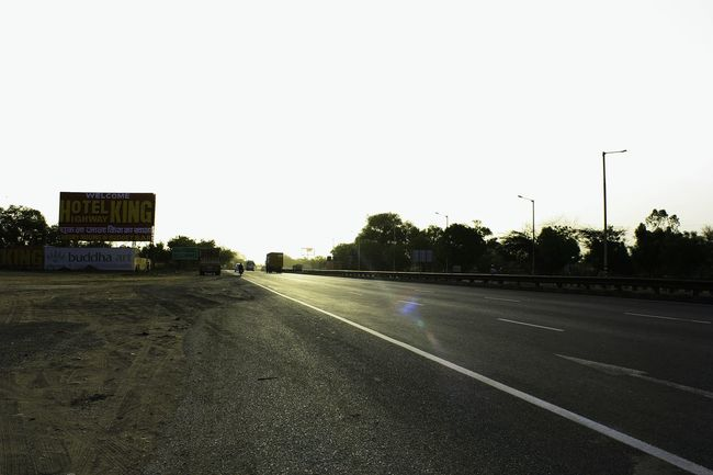 When the roads shine.. MUJ Highway King