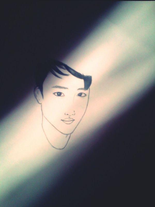 Art Drawing Exo_k