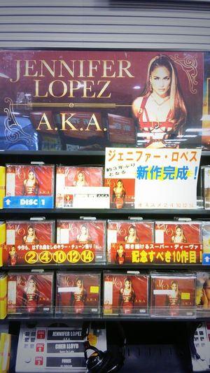 """I finally got Jennifer Lopez 's new album """" A.k.a"""