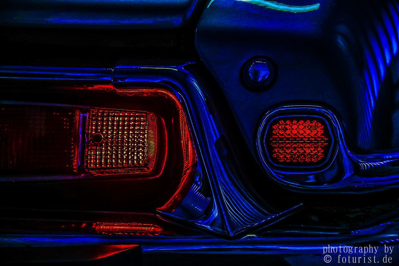 transportation, mode of transport, illuminated, car, land vehicle, no people, night, car interior, close-up, indoors