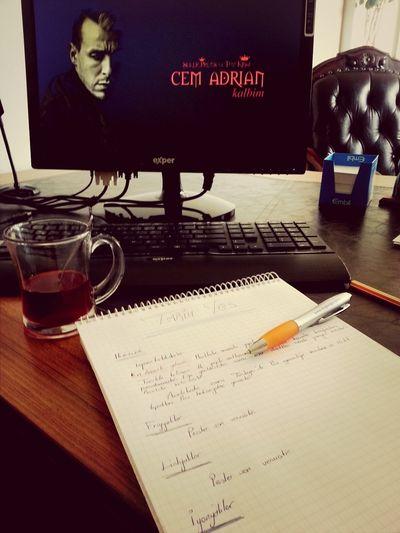Cem Adrian, böğürtlenli çayım ve son YGS hazırlıkları ♡ Cemadrian YGS MOD ON! Blue Music