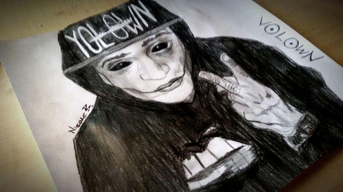 Zoda Jzoda Own Scleroeye Sclero Weed Peace Yolown Portrait Draw