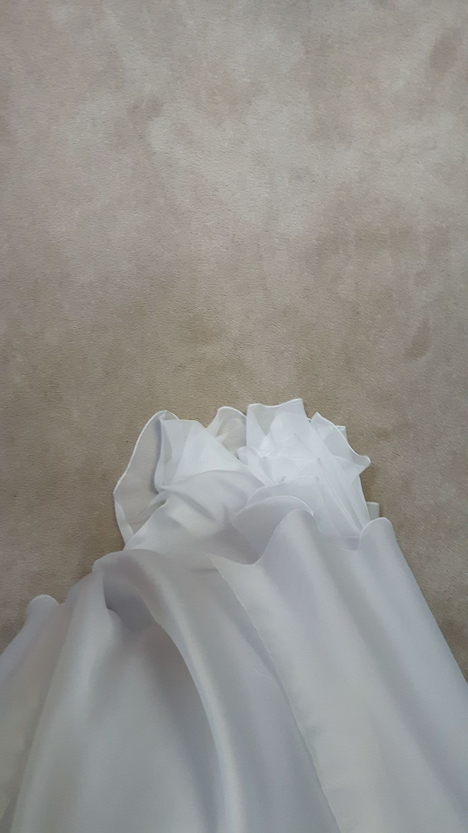 I can be either very manly or a total girly girl and this dress turned me into the latter. White Dress Pretty Soft Silky Satin Prom Gradation Beautiful Flowing Falling Coloroflife Newbeginnings Change Life Smile Happy Girls Girly Vibes Goodvibes Ecstatic Ecstasy
