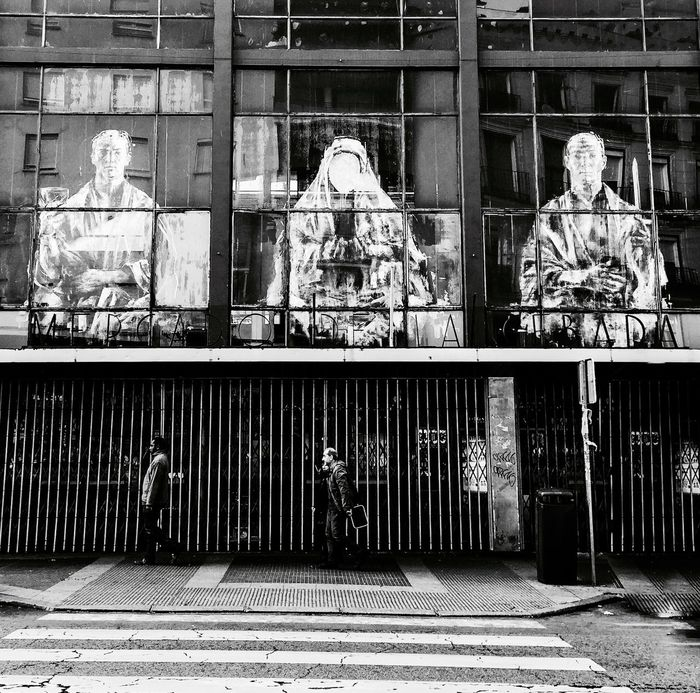 Madrid Street Photography Blanck And White Photo Madrid Spain Shades Of Grey IPhoneography Iphonephotography IPhone Photography