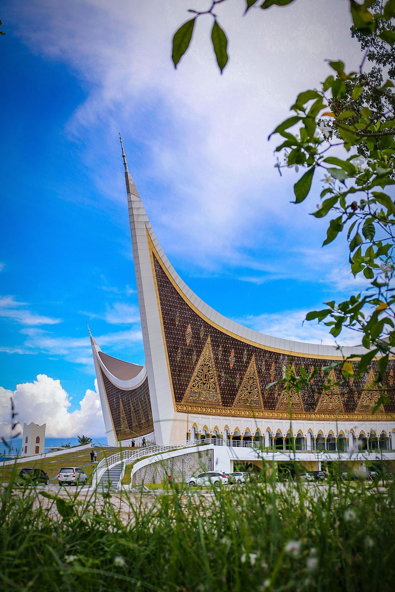 The great mosque of West Sumatera Architecture Travel Destinations Tourism Photography Wonderfulindonesia Uniqueness