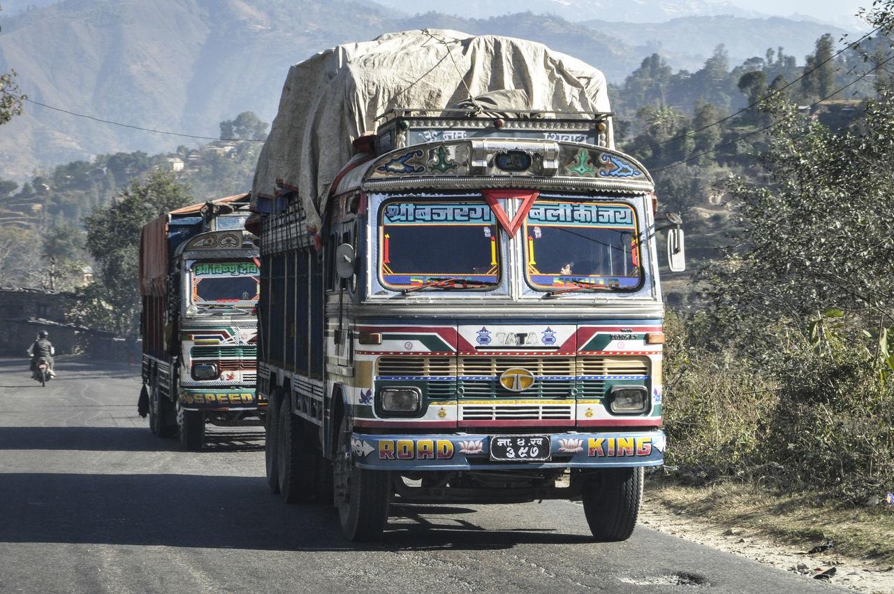Day Himalayas Mountain Mountain Range My Year My View Nepal Nepal #travel No People Outdoors Transportation Transportation Vehicle Travel Travel Photography Truck Trucks Vehicles