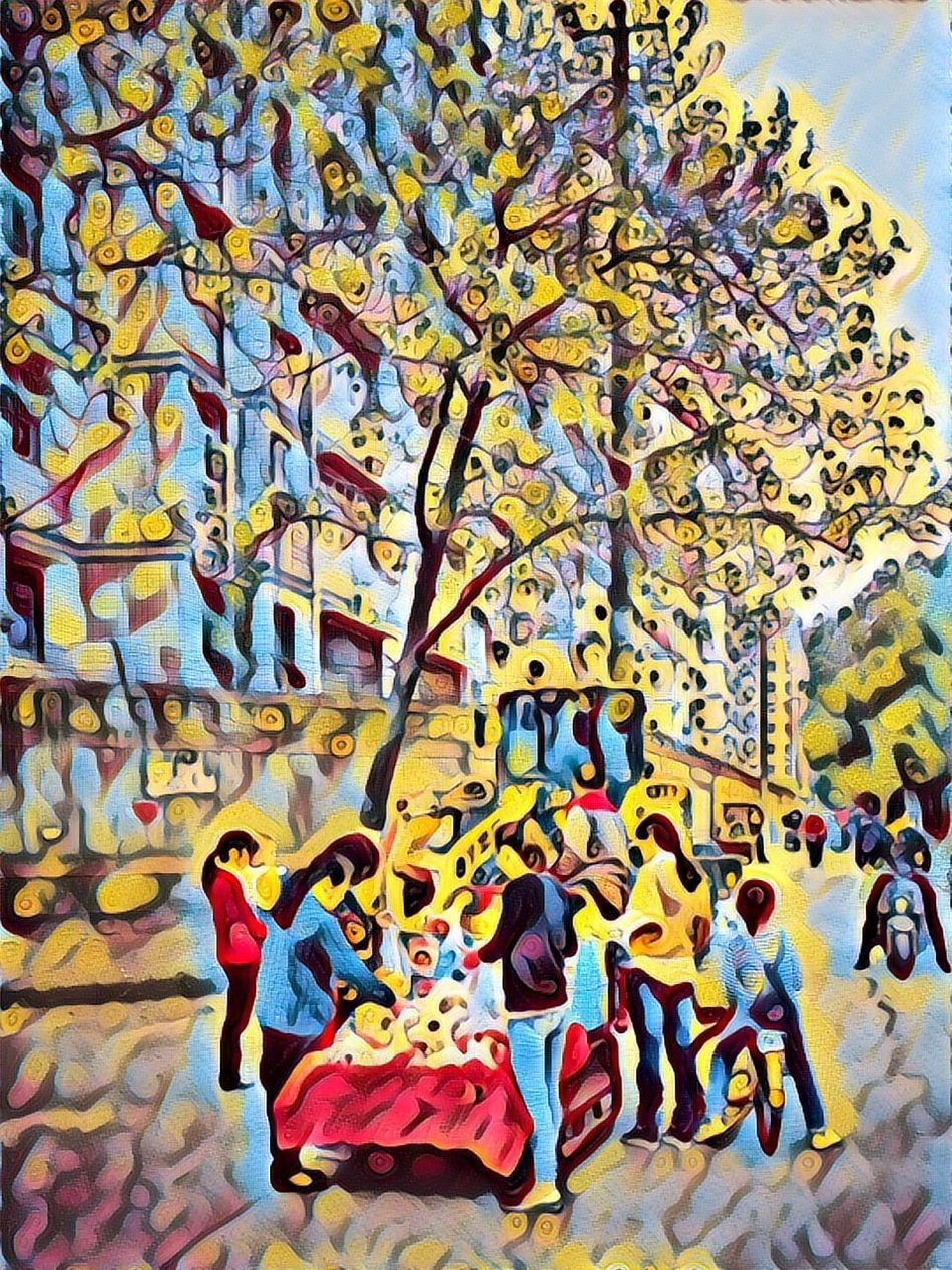 Prisma App Prisma Art Colour Of Life Streetphotography Colorphotography I Love My City Eye4photography  Faces Of The World Mirrorless Faces Of EyeEm Evrybody Street Everybodystreet Pastel I Like My City Taking Photos