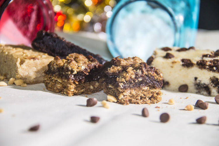 Brownies Chocolate Chocolate Chip Cookies Christmas Dessert Food Revel Bar Sweet Food