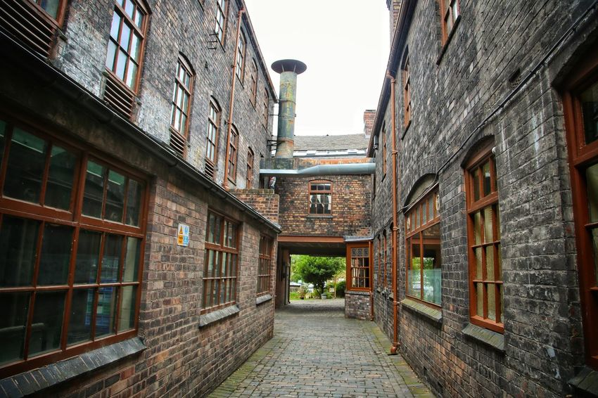 Middleport Pottery Architecture Building Exterior Built Structure Day Middleport Pottery No People Outdoors Sky The Way Forward Window