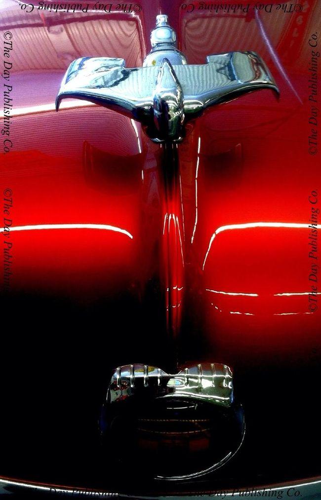 1951 Nash hood ornament. Vintage Motorcars.