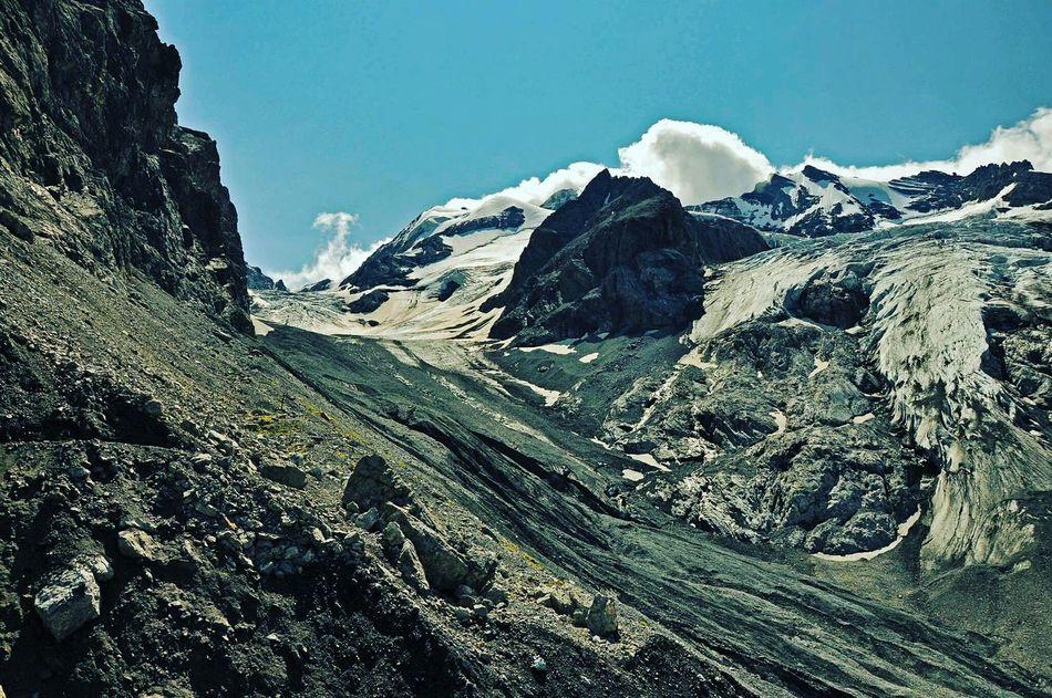 How Do You See Climate Change? Dreiferneweg / A glacier valley in Stilfserjoch National Park. Glaciers seem to survive only at higher altitudes in the Alps region Stilfserjoch Stelvio Südtirol Mountains Wildnature Europa Alpine Alpen Alps