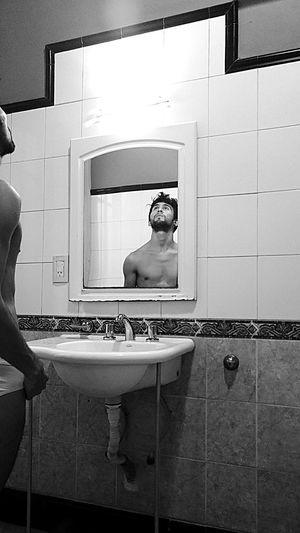 Inside... Adults Only One Person Full Length Domestic Bathroom Bathroom One Man Only Lifestyles Only Men Adult Body Care Young Adult Taking A Bath Mensfashion Model Modelboy Malemodel  Malephotographerofthemonth Black Blackandwhite Bodyshot Bodyart First Eyeem Photo