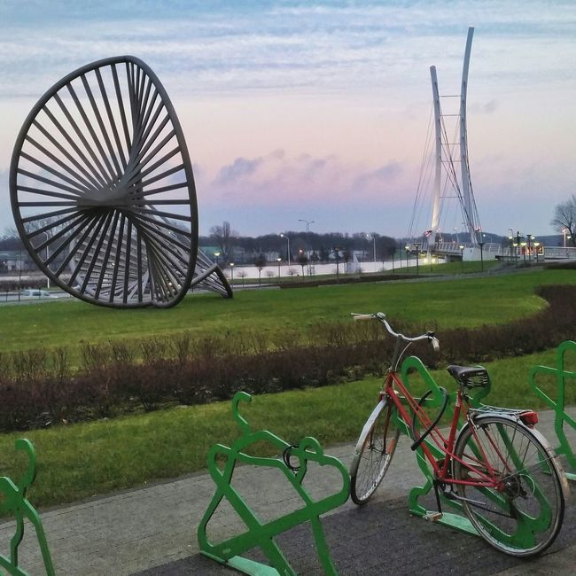 Cityscape Bike Sculpture