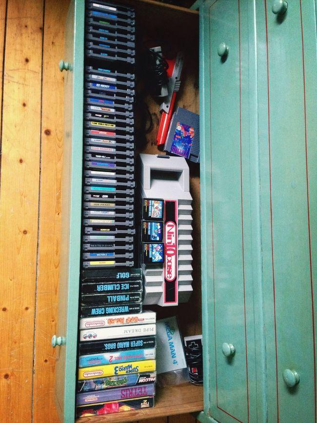 My collection. Nintendo Retro Cib Nes