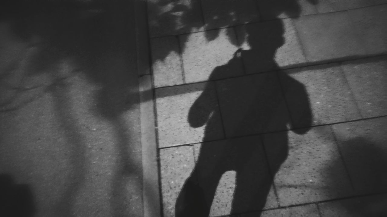 Accidental selfie. · Germany Selfie Self Portrait Accidental Selfie Accidental Random Shadows Silhouette Light And Shadow Night Lights Night Shot Blackandwhite Black & White