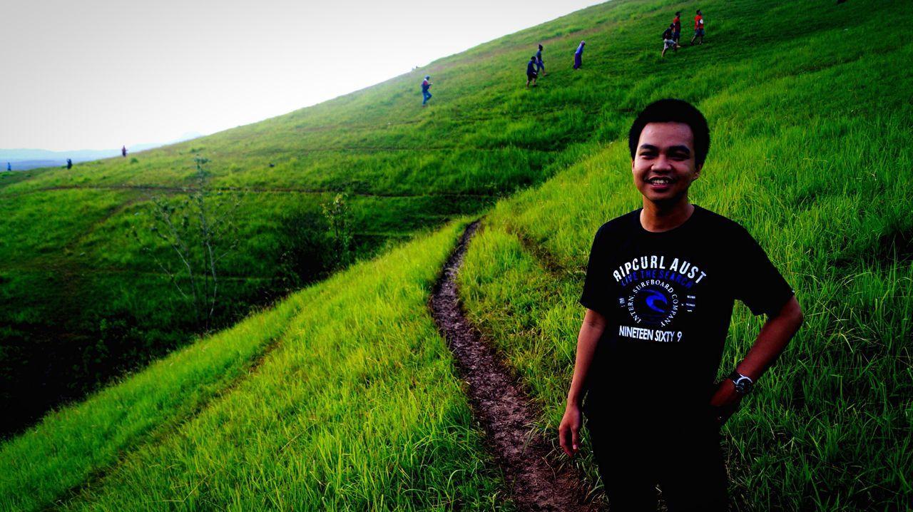 Bukitrimpi Pelaihari Kalsel Hanging Out Hello World Green INDONESIA