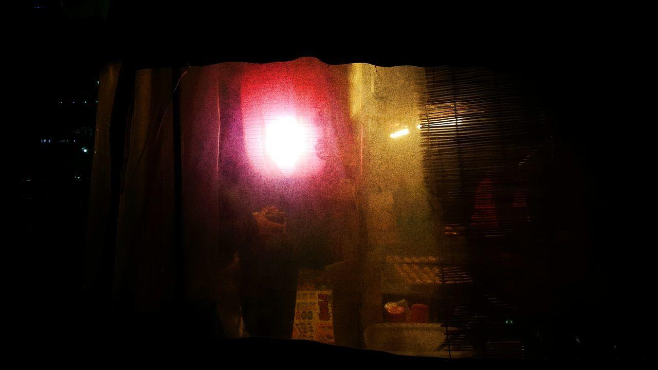 Night Red Lighting Equipment Illuminated No People Indoors  Tacoyaki Food Dark Black Red Lantern Covered Wagon Hand First Eyeem Photo Street Seoul Korean