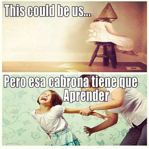 Yeah....everyone van really relate to this haha if your parents didn't hit you with their hand well they got their hand on something Mexicanproblems TheirDeadlyWeapon AnythingIsAWeaponToThem