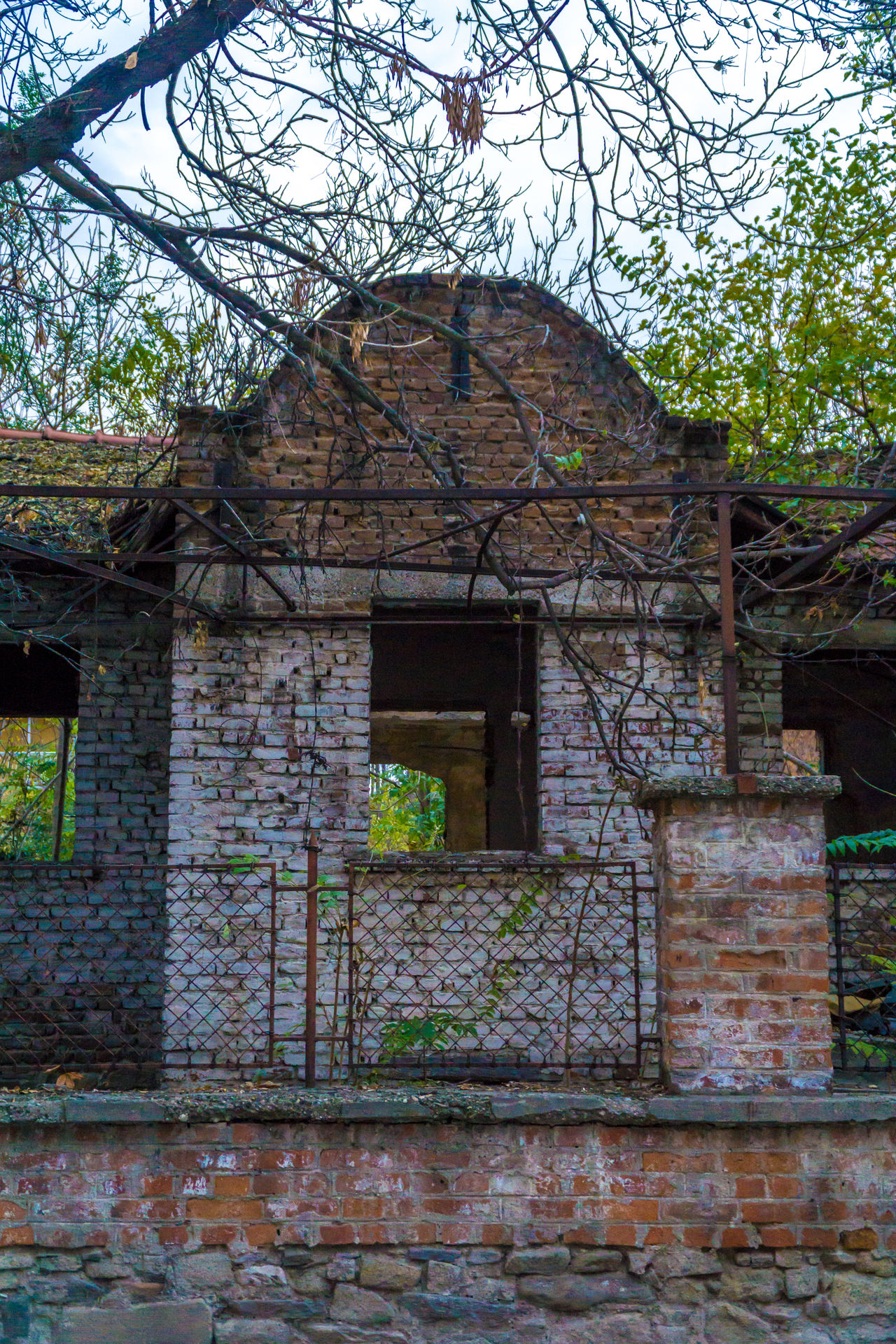 Architecture Building Exterior Built Structure Entrance House Old Old Buildings Outdoors Tree