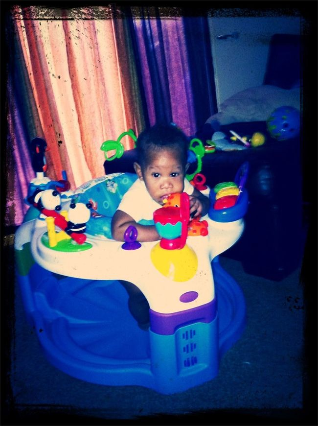 My Baby Playing