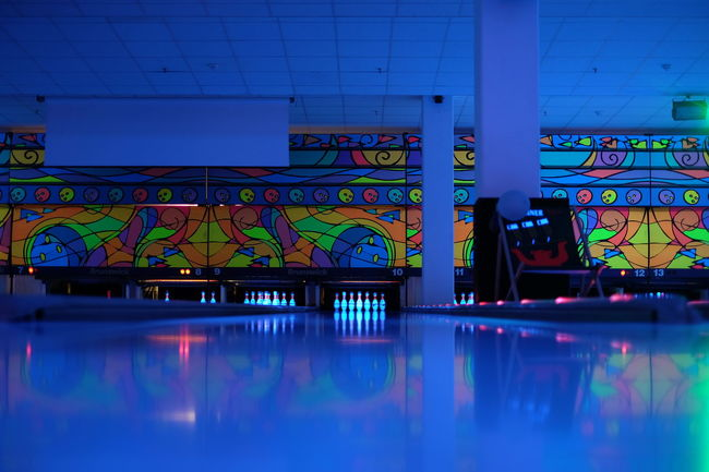 Bowling Bowling Alley Relax Sport