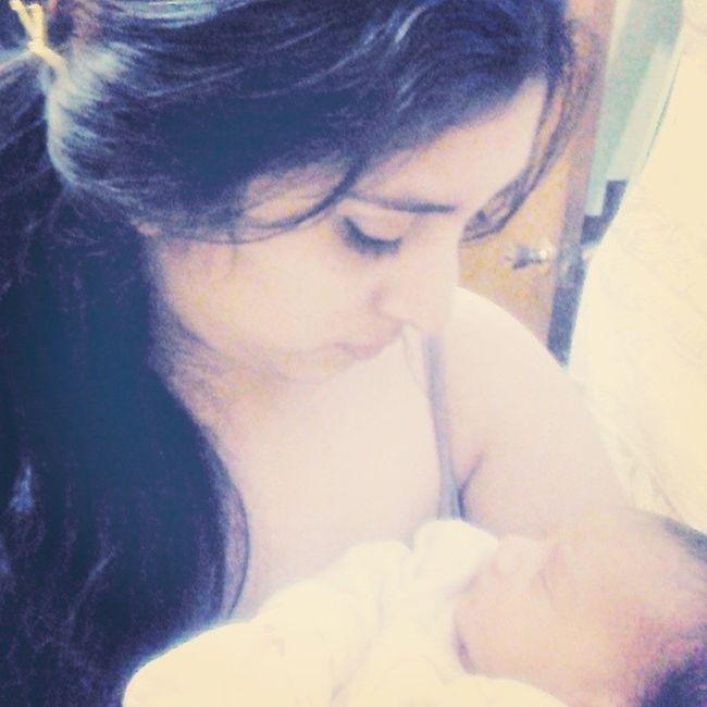 We're sisters Alondra  Newborn