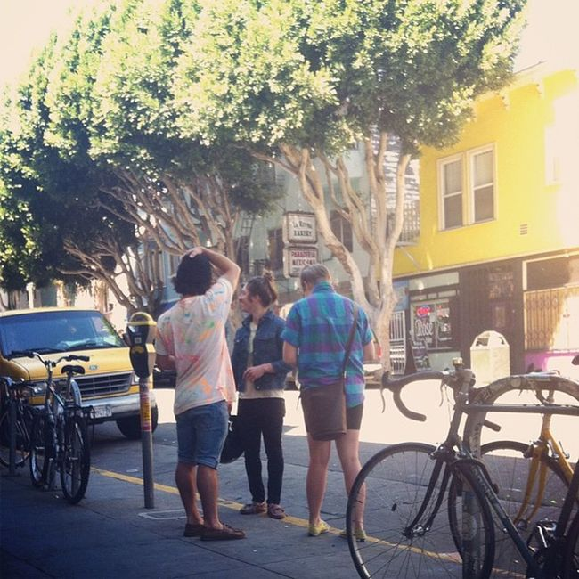 Watching SF Hipster