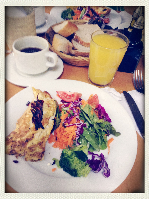 Enjoying Life Bicycle Breakfast