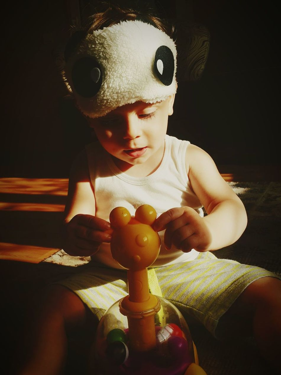 My nephew Nephewlove Babyboy Playing Toys Children Photography Light And Shadow