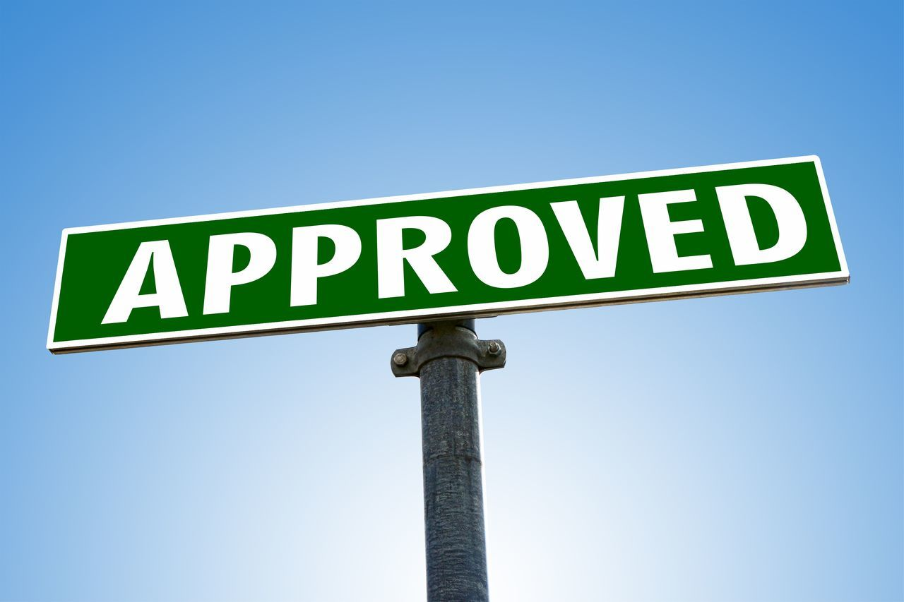 Approve Approved Approved Word No People Permit Quality Road Sign Word Yes