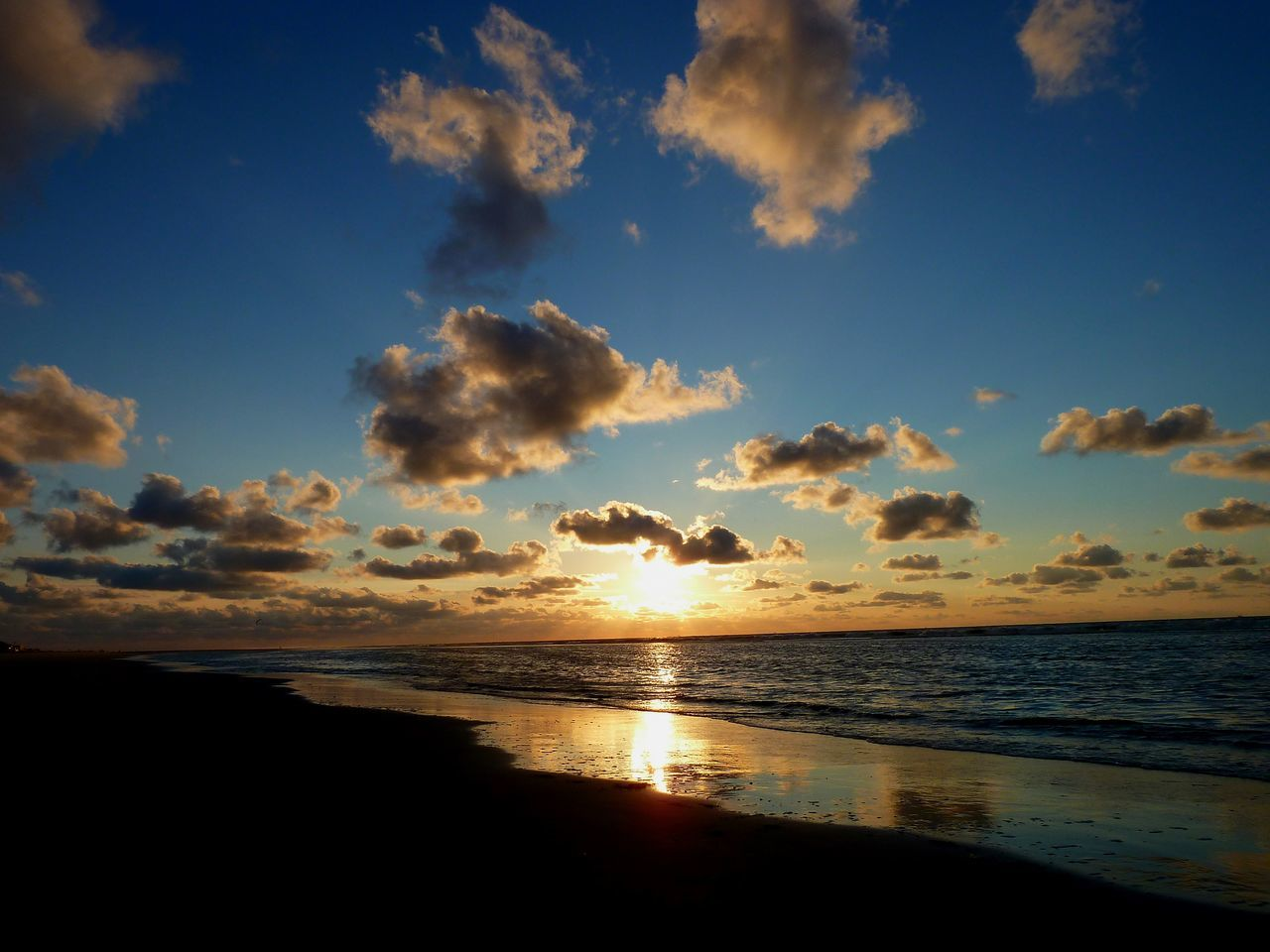sea, sunset, sky, nature, idyllic, beauty in nature, scenics, beach, water, tranquility, landscape, no people, outdoors