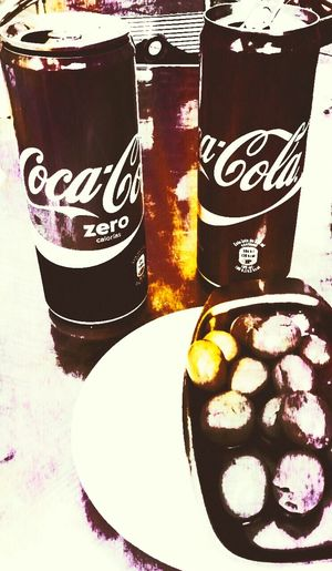 Taking Photos That's Me Relaxing Enjoying Life Mediterranean Food Goodvibrations Coke and olives. Best place to live Barcelonalove Showing Imperfection